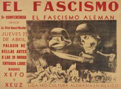 El fascismo: 3a conferencia, El fascismo alemán (Fascism: 3rd Lecture, German Fascism)