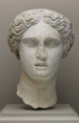 Head of a Goddess (possibly Hera)