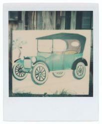 Untitled [Hand-Painted Sign of Model T Ford, Old Lyme, Connecticut]