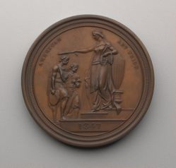 Washington Allston American Art-Union Medal