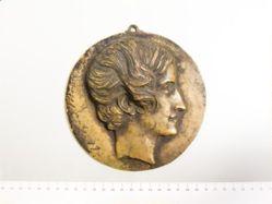Countess Potocka: bronze cast
