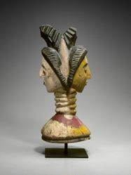 Headdress in the Form of a Janus Head