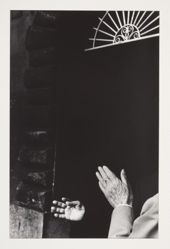 Untitled (Hands Isolated Against a Darkened Portal) 1972, from the portfoliio Chiaroscuro, 1982