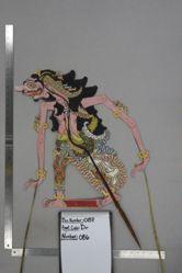 Shadow Puppet (Wayang Kulit) of Rajamala, from the set Kyai Drajat