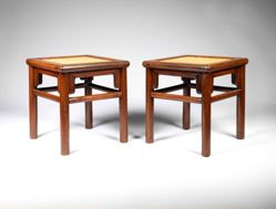 Pair of Square Stools