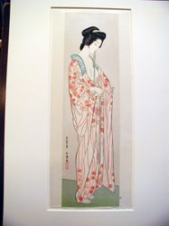 Woman in a Nagajuban