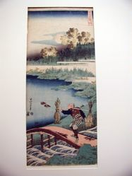 The Old Farmer, from the series True Mirror of Chinese and Japanese Poems