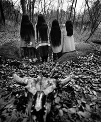 Donna Ferrato, Sioux Sisters, Pine Ridge Reservation, South Dakota, from the series Holy