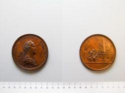 Bronze medal of Ivan Ivanovich Bezkoi