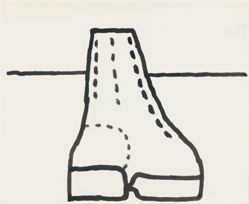 Untitled [Narrow Boot], from Suite of 21 Drawings