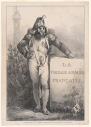 Frontispiece for the series La Vieille Armee Francaise