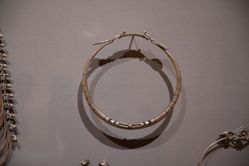 Neck Ring and Bead Necklace