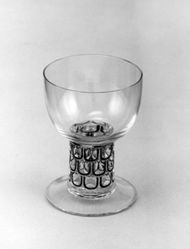 "Cocktail Glass, ""Saint-Nabor"" Pattern"