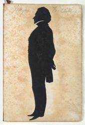 Silhouette of Thomas Wheeler Williams 1789-1874