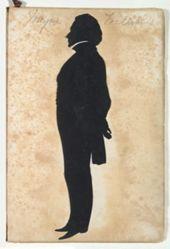 Silhouette of Thomas Wheeler Williams 1789-1874