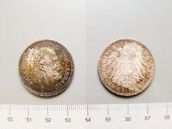 Silver 2 Mark of Anhalt-Dessau