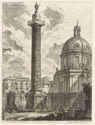 Colonna Trajana (Trajan's Column), from Vedute di Roma (Views of Rome)