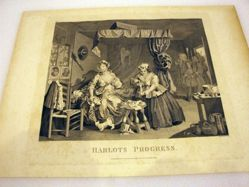 The Harlot's Progress, Plate 3