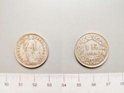 1 Franc of Switzerland