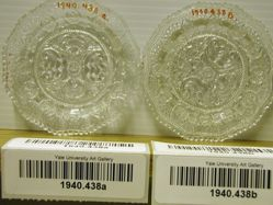 Pair of Cup Plates