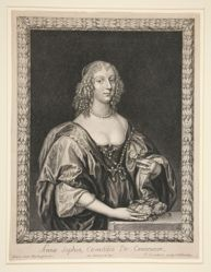 Anna Sophia, Countess of Carnarvon-from a series called the Twelve Countesses