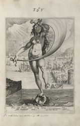 Fortune, plate 1 of 9 from the series Virtues and Vices