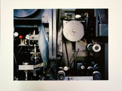 "Robert Burley, Detail of Machine Used to Create 8"" x 10"" Polaroid Film, Polaroid, Enschede, The Netherlands, from the portfolio The Disappearance of Darkness"