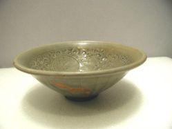 Olive green bowl