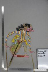 Shadow Puppet (Wayang Kulit) of Sabrangar or Tatagan, from the set Kyai Drajat