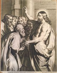 Christ Giving the Keys to Saint Peter