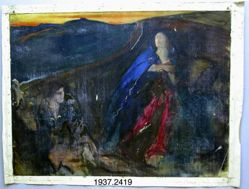 Compositional Study, possibly for Tristan and Isolde