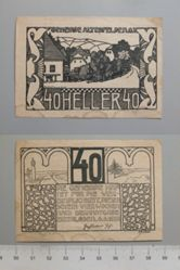 40 Heller from Altenfelden, Notgeld