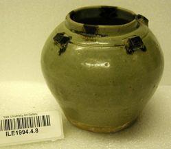 Jar with four shoulder lugs