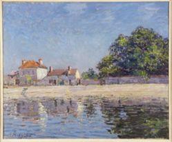 Bords du Loing, Saint-Mammes (The River Loing at Saint-Mammes)