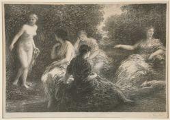 Five Nymphs