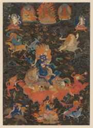 Wrathful Protector Shri Devi as Palden Lhamo