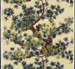 "Length of Fabric, ""Pinehurst"" Pattern"