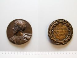 Medal of Lorenzo II. de Medici, Duke of Urbino, (1516-1529)