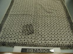 Length of printed cotton cloth