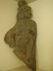 Gandharan male figure from a relief