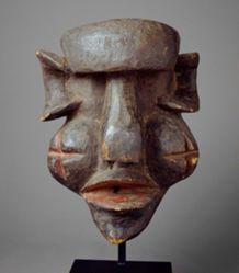 Mask Representing an Antisocial Character (Gongoli)