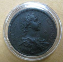 Portrait Medallion: Bonnie Prince Charlie