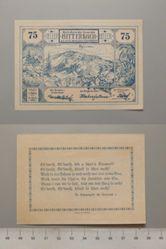 75 Heller from Mitterbach, Notgeld