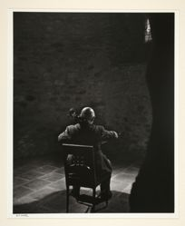 Pablo Casals Playing the Cello