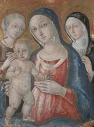 Virgin and Child with Saints Margaret and Catherine of Siena