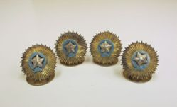 Order of the Star of India Menu Holders