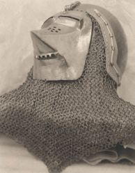 Medieval Helmet, from the series Undergarments and Armor