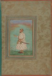 Portrait of Asalat Khan (d. 1648)