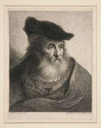 Head of a Bearded Man in Velvet Cap