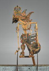 Puppet (Wayang Klitik) probably of Rama Wijaya